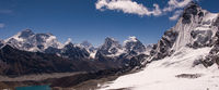 Three Passes & Everest Base Camp via Ama Dablam Base Camp, Upper Gokyo Valley Day Hike to 5th & 6th Lakes, and Thame-Khumjung Alternate Route
