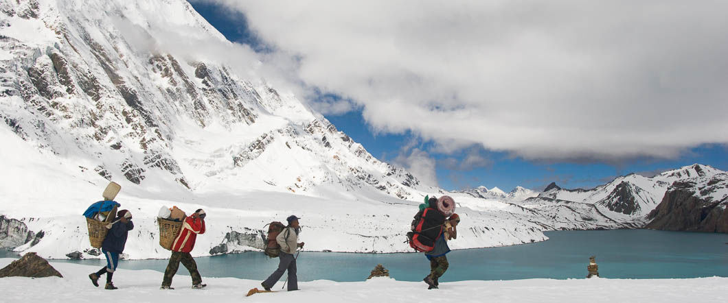 Annapurna Circuit via Tilicho Lake and via Kagbeni