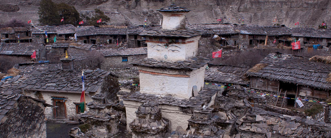 Around Manaslu via Punggen Gompa