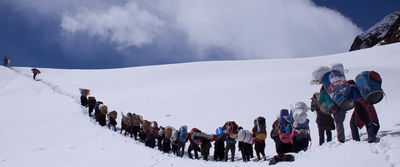 via Manaslu Base Camp