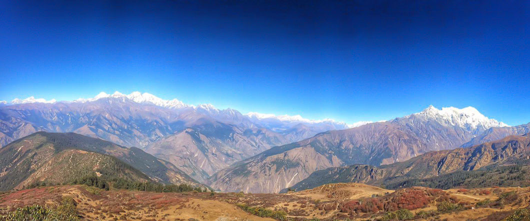 Langtang Valley via Gosainkunda, Upper Langtang Day Hike, and via Laurebina La & Helambu