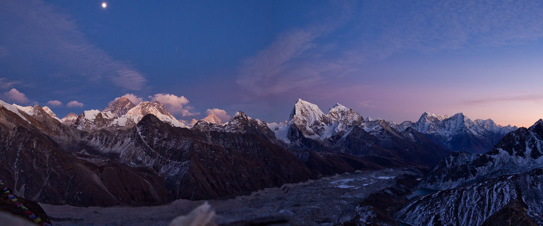 Gokyo Valley via Cho La & Everest Base Camp