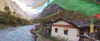 Around Manaslu via Tsum Valley and via Manaslu Base Camp